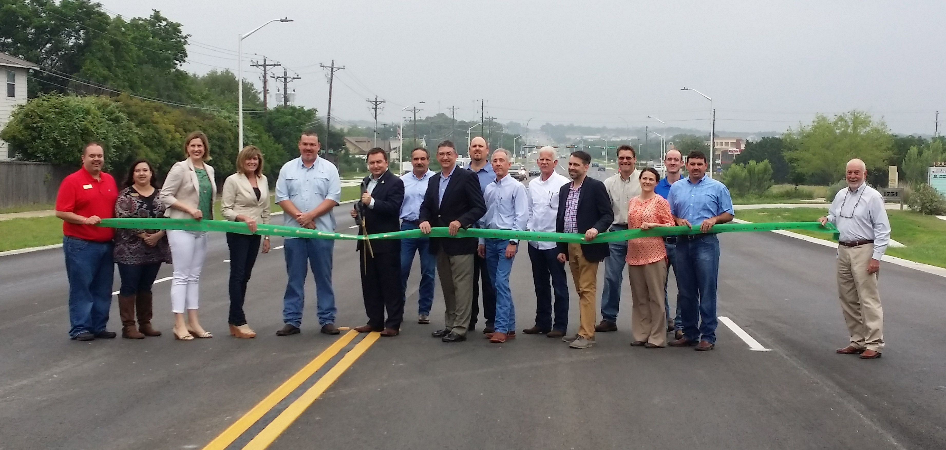 Bagdad Road Ribbon Cutting