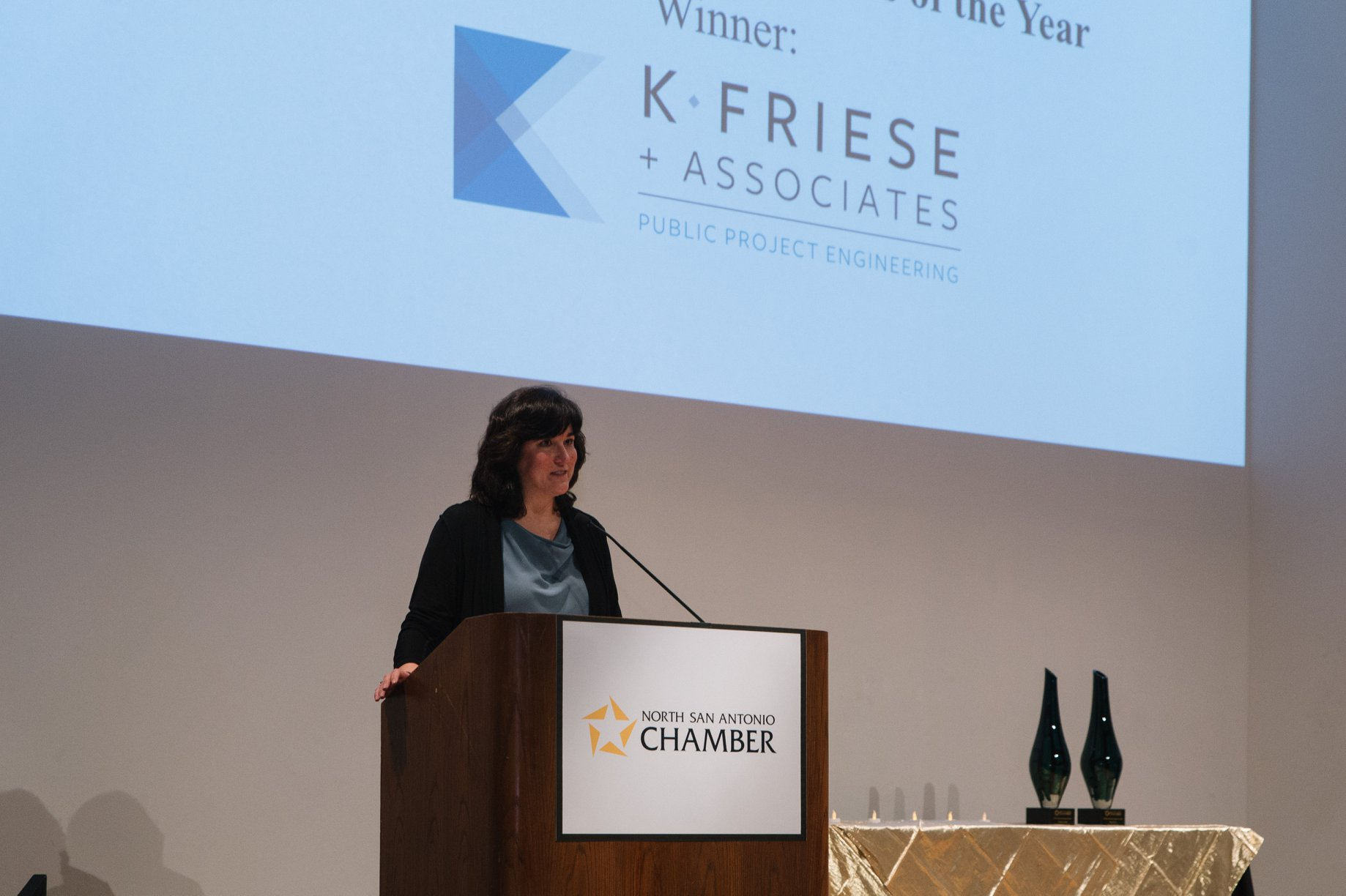 KFA selected for Women Owned Business of the Year Award by the North San Antonio Chamber of Commerce